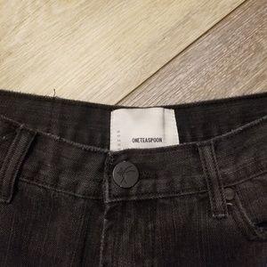 One Teaspoon Shorts - One teaspoon black shorts
